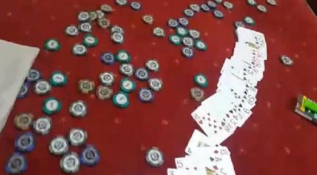 Çanakkale'de pizzacı kılığına giren polisten kumar baskını