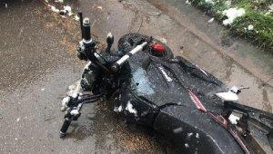 Terk edilmiş motosiklet polis ekiplerini harekete geçirdi