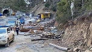 Çanakkale'de maden ocağı çöktü, bir işçi göçük altında