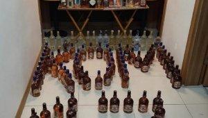Çanakkale'de kaçak ve sahte içki operasyonu: 1 gözaltı