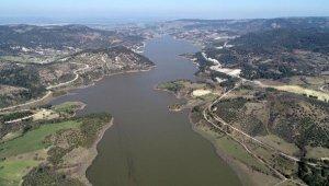 Çanakkale'nin içme suyunu karşılayan Atikhisar Barajı'nın doluluk oranı yüzde 73,5'e ulaştı