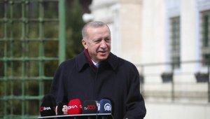 Erdoğan: Aldığımız kararın arkasından durmaya çalışacağız