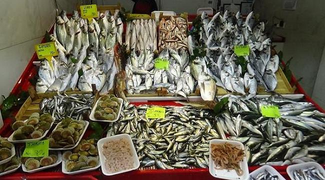 Av yasağına rağmen Çanakkale'de balık tezgahları doldu