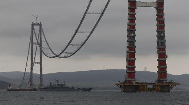 Çanakkale Boğazı'ndan 2 günde 4 Rus savaş gemisi geçti