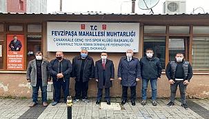 Vali İlhami AKTAŞ, 8 Nisan Romanlar Gününde Roman Federasyon Başkanlarıyla Bir Araya Geldi