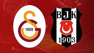 Galatasaray - Beşiktaş derbisinin 11'leri açıklandı