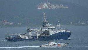 Rus askeri römorkörü Çanakkale Boğazı'ndan geçti