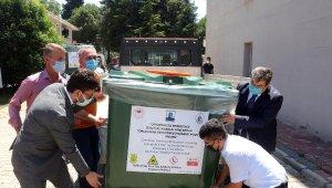 Çanakkale'de zirai ilaç ambalaj atıkları konteynerlerde toplanacak