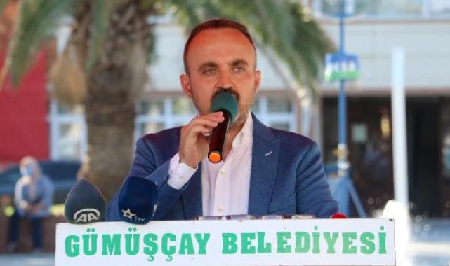 AK Parti'li Turan: 'Göçmene 10 katına su satacağım' diyecek kadar aciz olan bir millet olmadık, olmayacağız
