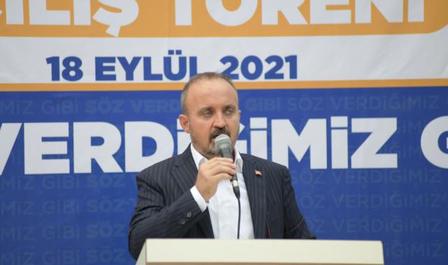 """""""AB SAVUNDUĞU DEĞERLERİ KAĞIT ÜZERİNDE BIRAKMAMALI ARTIK"""""""
