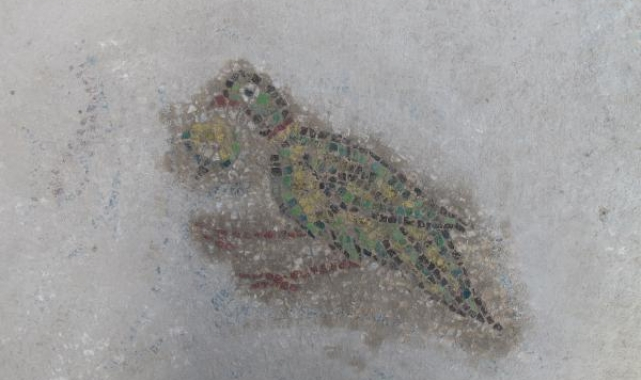 Troya Ören Yeri'nde Helenistik ve Roma dönemine ait mozaik bulundu