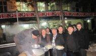 Çan'da Avcılar Hayır Yemeği Düzenledi